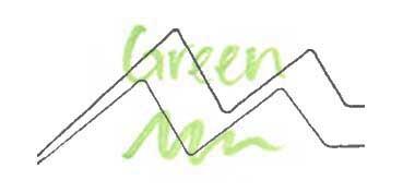 KURETAKE ZIG WINK OF STELLA GLITTER PEN - ROTULADOR PERLADO - GREEN Nº 040