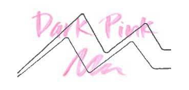 KURETAKE ZIG WINK OF STELLA GLITTER PEN - ROTULADOR PERLADO - DARK PINK Nº 027