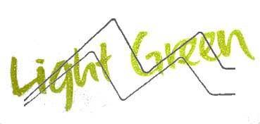 KURETAKE ZIG WINK OF STELLA BRUSH GLITTER ROTULADOR PINCEL LIGHT GREEN Nº 041