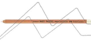 LÁPIZ PITT PASTEL FABER-CASTELL - BLANCO MEDIO Nº 101