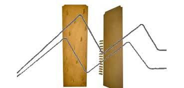 DECOLASH PANEL DE PARED LINEA CADRO - 170X50 CM - 14 COLGADORES DE 12 CM