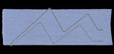FIELTRO LANA NATURAL GRUESO AZUL PACIFICO Nº 32: 45 X 70 CM. 260 GR. 3,5 MM (APROX.)