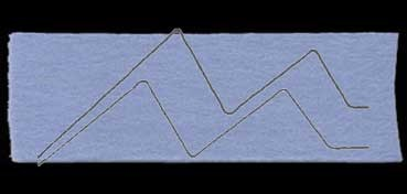 FIELTRO LANA NATURAL GRUESO AZUL PACIFICO Nº 32 PAQUETE 5: 45 X 70 CM. 260 GR. 3,5 MM (APROX.)