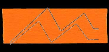FIELTRO LANA NATURAL GRUESO NARANJA Nº 40: 30 X 45 CM. 260 GR. 3,5 MM (APROX.)