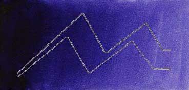 MIJELLO ACUARELA ARTIST MISSION GOLD CLASS AZUL VIOLÁCEO - BLUE VIOLET ( PB29, PR122 - LF.5 -  SEMI TRANSPARENTE) SERIE C Nº 576