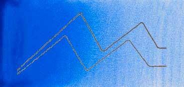 MIJELLO ACUARELA ARTIST MISSION GOLD CLASS AZUL COBALTO NO. 2 - COBALT BLUE NO.2 ( PB28 - LF.5 -  SEMI TRANSPARENTE) SERIE D Nº 549