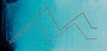 MIJELLO ACUARELA ARTIST MISSION GOLD CLASS AZUL PAVO REAL - PEACOCK BLUE ( PB15:3, PG7 - LF.5 -  SEMI TRANSPARENTE) SERIE D Nº 543