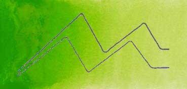 MIJELLO ACUARELA ARTIST MISSION GOLD CLASS VERDE AMARILLENTO - YELLOW GREEN ( PG36, PY3 - LF.4 -  SEMI TRANSPARENTE) SERIE B Nº 532