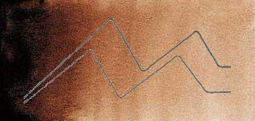 MIJELLO ACUARELA ARTIST MISSION GOLD CLASS SOMBRA TOSTADA - BURNT UMBER ( PBR7, PBR25, PY150 - LF.5 -  TRANSPARENTE) SERIE B Nº 570