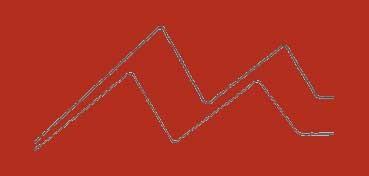 DALER-ROWNEY CARTÓN PASSE-PARTOUT ALMA BLANCA 1,4 MM - PILLAR BOX RED Nº 066