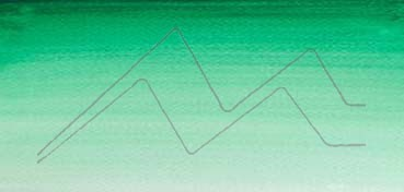 WINSOR & NEWTON ACUARELA COTMAN MEDIO GODET VERDE INTENSO - INTENSE GREEN - Nº 329