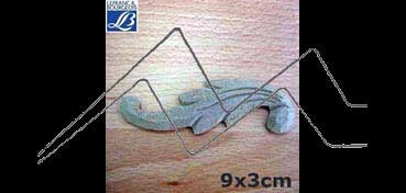 LEFRANC & BOURGEOIS SILUETA DECO 3D FANTASIA Nº 1 (9 X 3 X 0.5 CM)