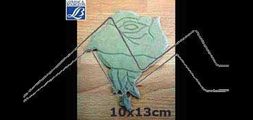 LEFRANC & BOURGEOIS SILUETA DECO 3D ROSA (10 X 13 X 0.5 CM)
