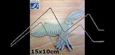 LEFRANC & BOURGEOIS SILUETA DECO 3D AGUILA (15 X 10 X 0.5 CM)