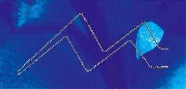 VALLEJO ACRÍLICO ARTIST AZUL FLUORESCENTE - FLUORESCENT BLUE SERIE 600 Nº 622