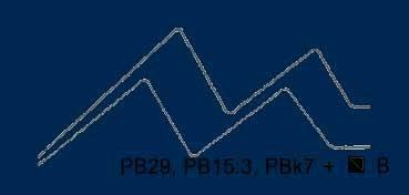 VALLEJO ACRYLIC ARTIST FLUID COLORS AZUL DE PRUSIA (TONO) - PRUSSIAN BLUE (HUE) SERIE 400 Nº 405