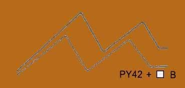 VALLEJO ACRYLIC ARTIST FLUID COLORS TRANSÓXIDO AMARILLO - TRANSOXIDE YELLOW SERIE 400 Nº 424