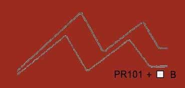 VALLEJO ACRYLIC ARTIST FLUID COLORS TRANSÓXIDO ROJO - TRANSOXIDE RED SERIE 400 Nº 425