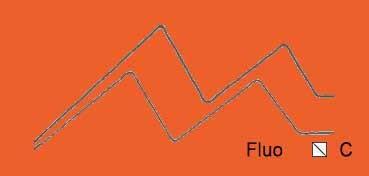 VALLEJO ACRYLIC ARTIST FLUID COLORS NARANJA FLUORESCENTE - FLUORESCENT ORANGE SERIE 600 Nº 618