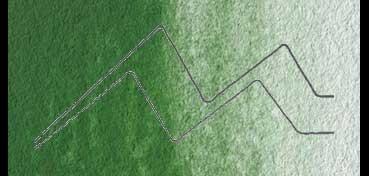 ACUARELA ST. PETERSBURG WHITE NIGHTS GODET COMPLETO - SERIE A - VERDE OXIDO DE CROMO Nº 704