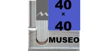 BASTIDOR MUSEO (ANCHO DE LISTON 60 X 22) 40 X 40