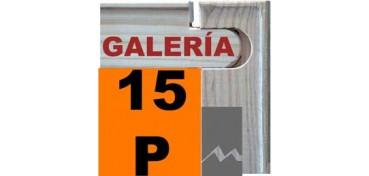BASTIDOR GALERÍA 3D (ANCHO DE LISTON 46 X 32) 65 X 50 15P