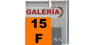 BASTIDOR GALERÍA 3D (ANCHO DE LISTON 46 X 32) 65 X 54 15F