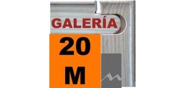 BASTIDOR GALERÍA 3D (ANCHO DE LISTON 46 X 32) 73 X 50 20M