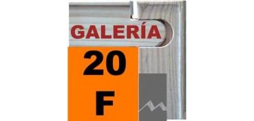 BASTIDOR GALERÍA 3D (ANCHO DE LISTON 46 X 32) 73 X 60 20F