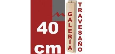 TRAVESAÑO PARA BASTIDOR GALERÍA 3D (46 X 17) - 40 CM