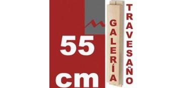 TRAVESAÑO PARA BASTIDOR GALERÍA 3D (46 X 17) - 55 CM