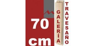 TRAVESAÑO PARA BASTIDOR GALERÍA 3D (46 X 17) - 70 CM