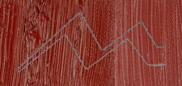 WINSOR & NEWTON ÓLEO WINTON ROJO INDIO (INDIAN RED) (317) TUBO Nº  23