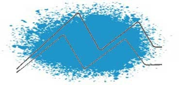 LIQUITEX SPRAY ACRÍLICO - PROFESSIONAL SPRAY PAINT - TONO AZUL CERULEO 6 (CERULEAN BLUE HUE 6) SERIE 1 Nº 6470