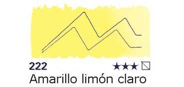 AKADEMIE MEDIO GODET 222 AMARILLO LIMÓN CLARO