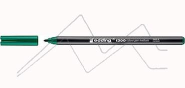 EDDING 1300 ROTULADOR PUNTA REDONDA - VERDE