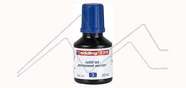 EDDING T25 TINTA PARA RELLENAR ROTULADOR PERMANENTE - AZUL