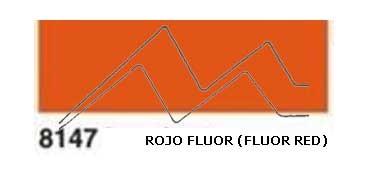 JAVANA PINTURA PARA SEDA ROJO FLUOR (FLUOR RED) RFA.K8147