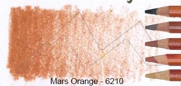 DERWENT DRAWING LÁPIZ DE DIBUJO MARS ORANGE 6210