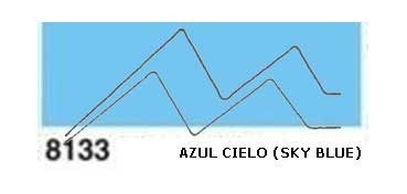 JAVANA PINTURA PARA SEDA AZUL CIELO (SKY BLUE) RFA.K8133