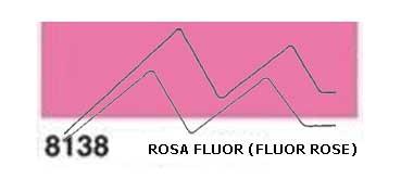 JAVANA PINTURA PARA SEDA ROSA FLUOR (FLUOR ROSE) RFA.K8138