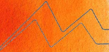 HOLBEIN ACUARELA ARTIST TUBO NARANJA BRILLANTE - BRILLIANT ORANGE - Nº 247 SERIE C