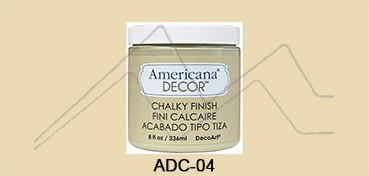 AMERICANA DECOR CHALKY FINISH BEIGE ETERNO ADC-04