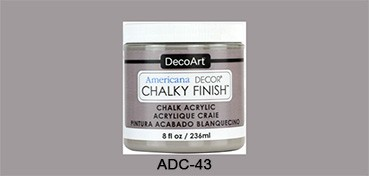 AMERICANA DECOR CHALKY FINISH GRIS ARTEFACTO ADC-43
