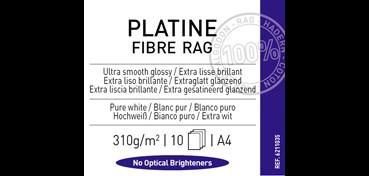 CANSON INFINITY PLATINE FIBRE RAG 310G 100% ALGODÓN