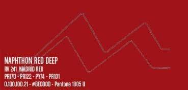 MONTANA WATER BASED PINTURA EN SPRAY BASE AGUA NAPHTHON RED DEEP Nº 241