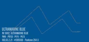 MONTANA WATER BASED PINTURA EN SPRAY BASE AGUA ULTRAMARINE BLUE Nº 5002