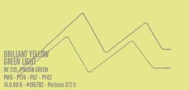 MONTANA WATER BASED PINTURA EN SPRAY BASE AGUA BRILLANT YELLOW GREEN LIGHT Nº 235