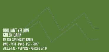 MONTANA WATER BASED PINTURA EN SPRAY BASE AGUA BRILLANT YELLOW GREEN DARK Nº 335
