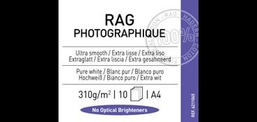 CANSON INFINITY RAG PHOTOGRAPH 310G 100% ALGODÓN